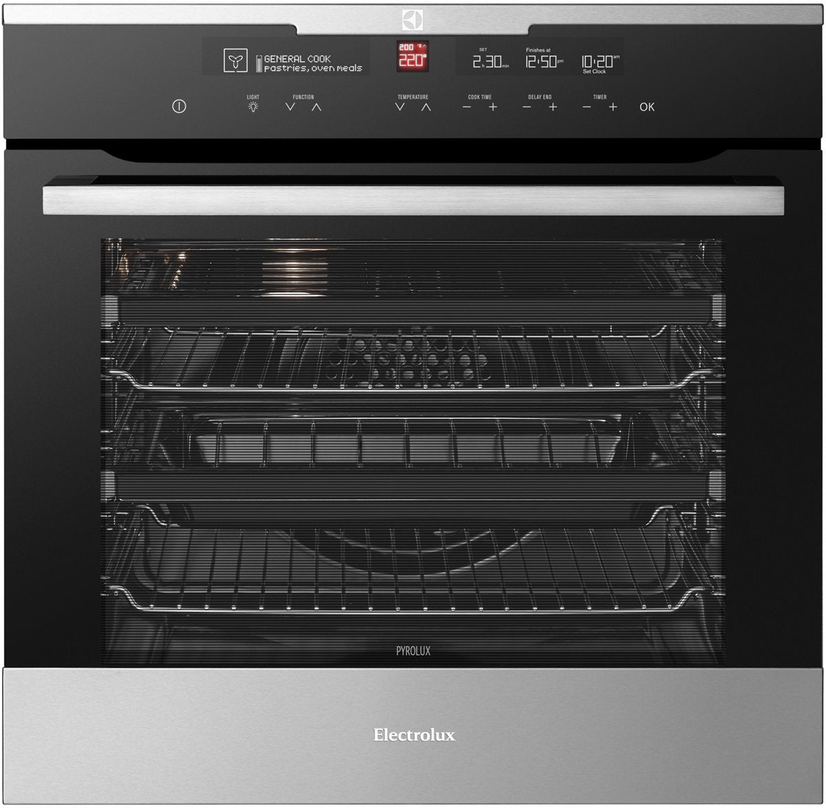 Electrolux EVEP616BB 60cm Pyrolytic Multifunction Oven