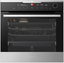 Load image into Gallery viewer, Electrolux EVEP618SC 80L Pyrolytic Multifunction S/Steel 60cm Oven - Bargain Home Appliances