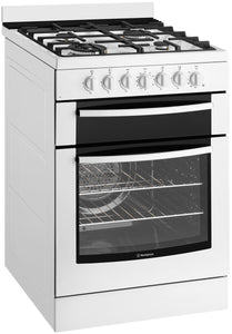 Westinghouse WFE619WA 60cm Electric Oven with Gas Hob - Bargain Home Appliances