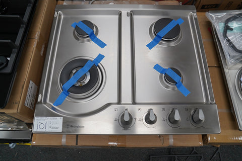 Westinghouse WHG646SA 60cm Stainless Steel Gas Cooktop