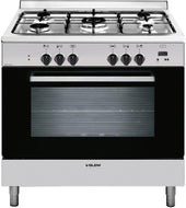 Glem GL965EI 90cm Stainless Steel Cooker with Fan Forced Electric Oven - Bargain Home Appliances