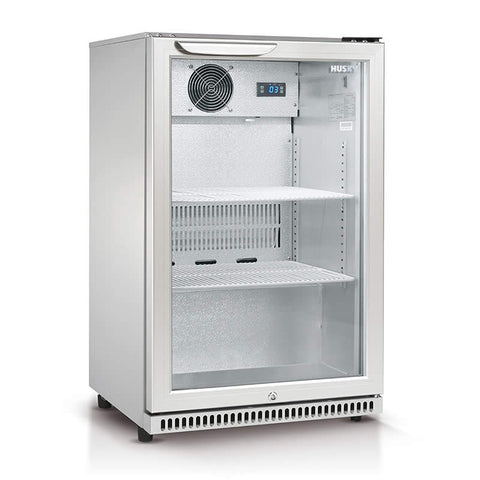 Husky HUS-C1-840-R 118L Single Door Bar Drinks Chiller