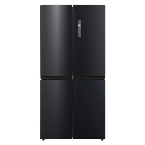 Husky HUS-545FDBIX 545L French Door Fridge/Freezer In Black Stainless Steel