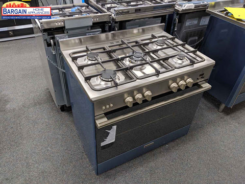 Glem UN965MVI 90Cm All Gas Stainless Steel Cooker