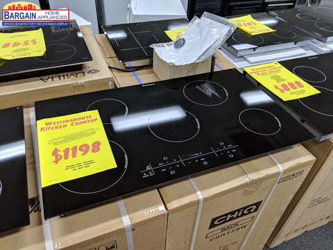 Westinghouse WHI954BA 90cm 5 Zone Black Ceramic Induction Cooktop