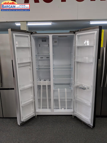 Inalto ISBS584X 584L Stainless Steel Side by Side Refrigerator