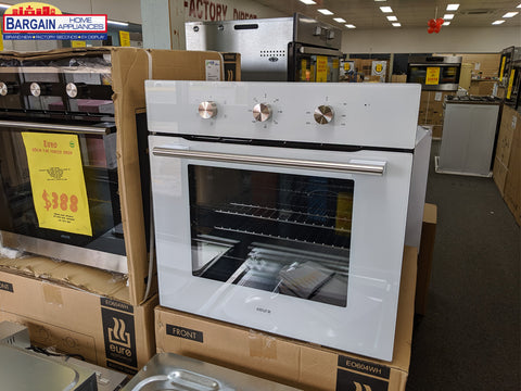 Euro EO604WH 60cm White Fan Forced Oven