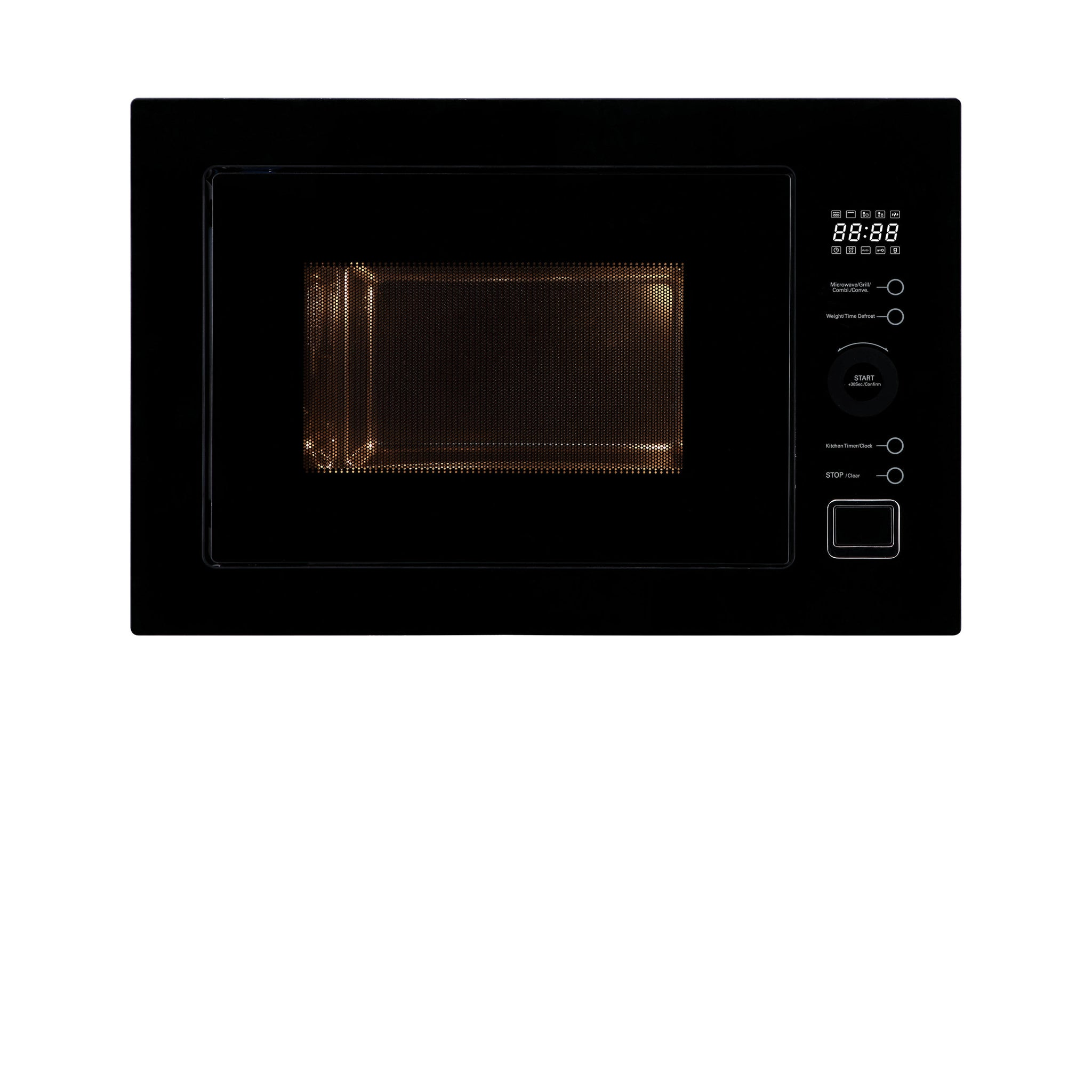 Inalto MC25BF 25L Convection Built-in Microwave Oven