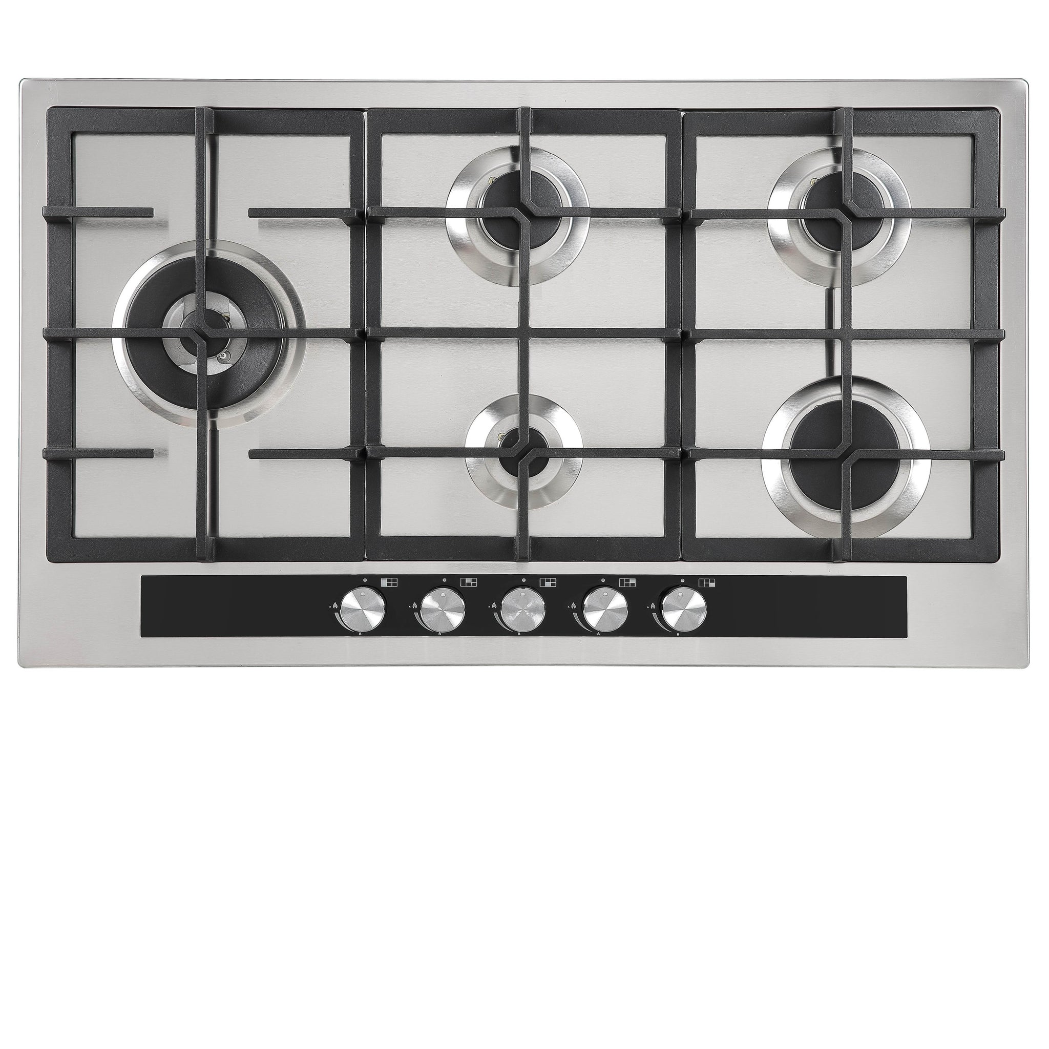 Inalto ICG905W 86cm Gas Cooktop with Wok Burner