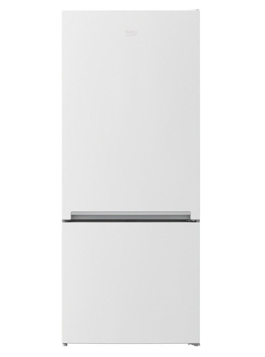 Beko RCNE450K40ZW 445L Bottom Mount White Fridge