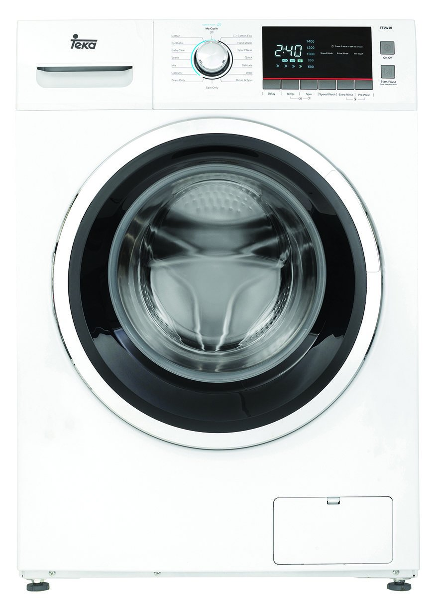 Teka TFLW10 10kg Front Load Washing Machine - Bargain Home Appliances