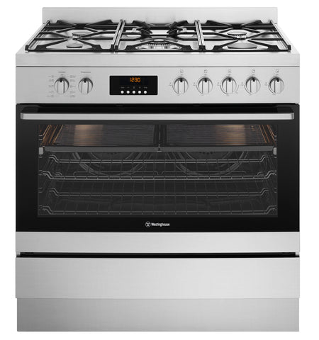 Westinghouse WFEP915SC 90cm Pyrolytic Dual Fuel Oven/Stove