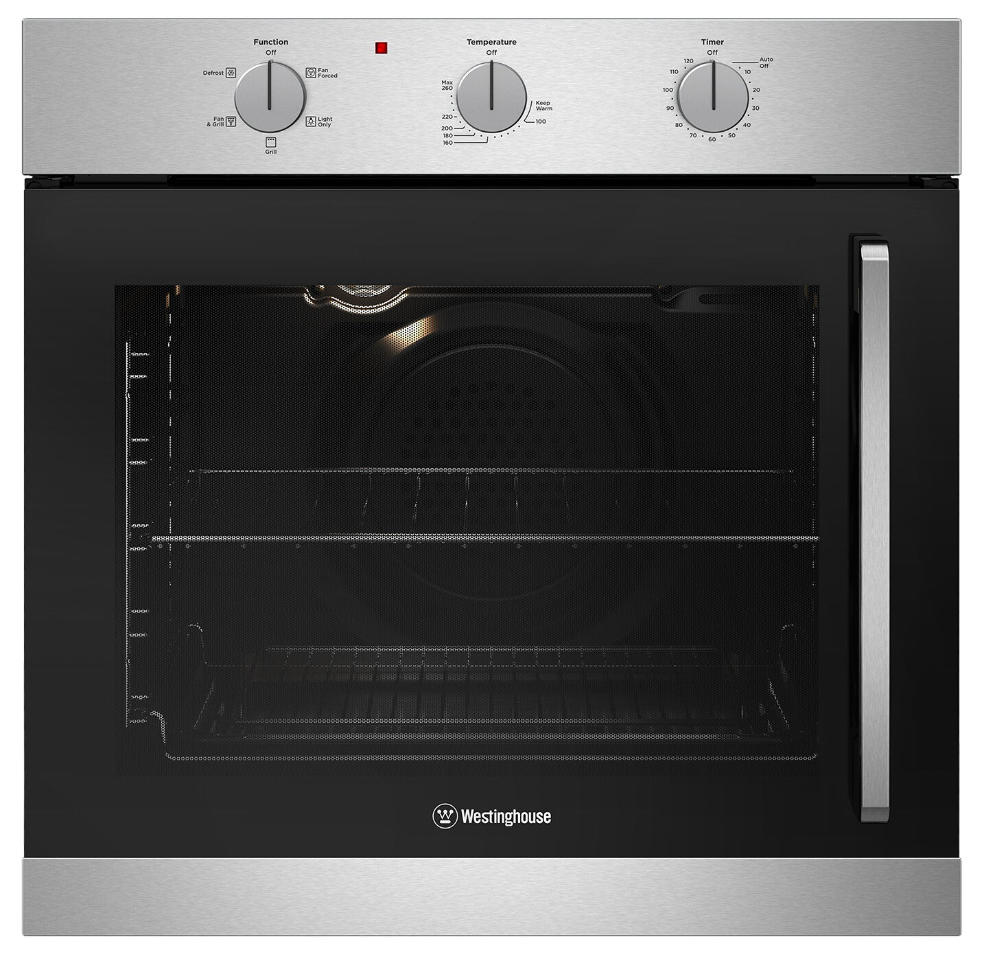 Westinghouse WVES613SC-L 600mm Stainless Steel Multifunction Oven with Left Side