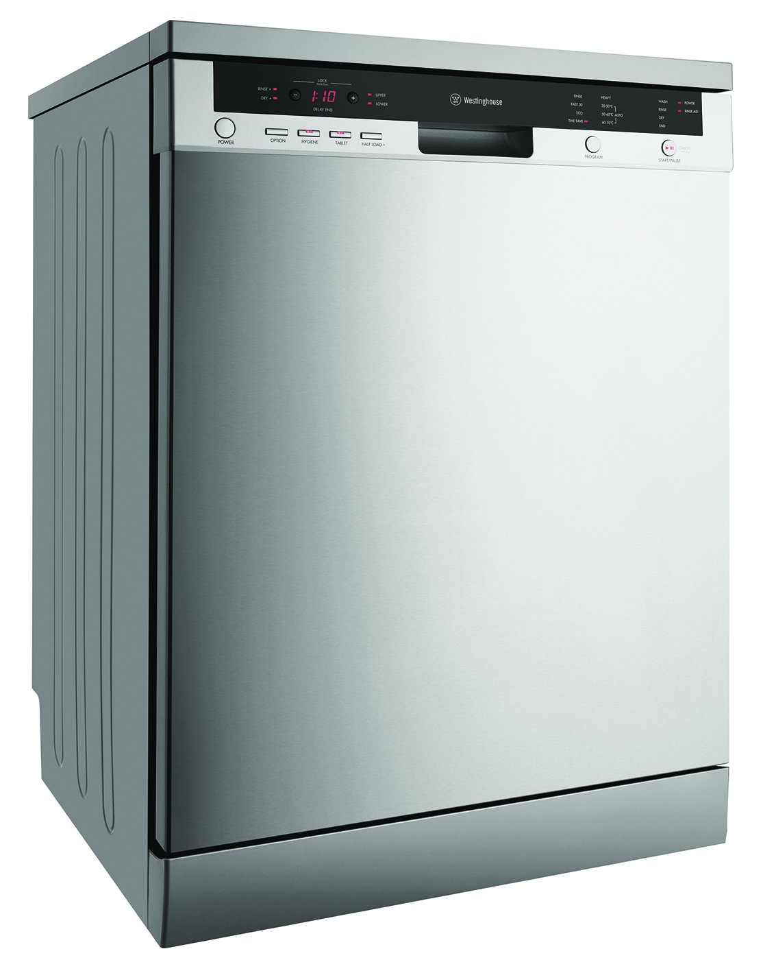 Westinghouse WSF6608X Stainless Steel Freestanding Dishwasher