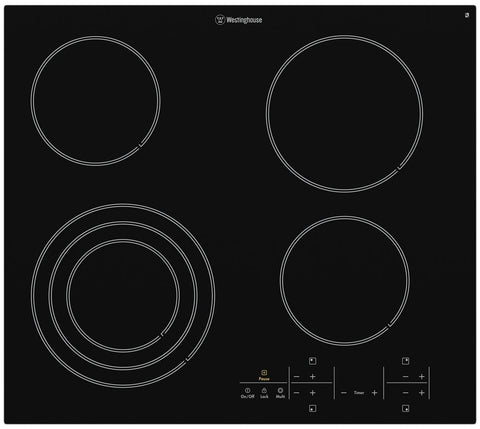 Westinghouse WHC644BA 60cm Electric Ceramic Cooktop