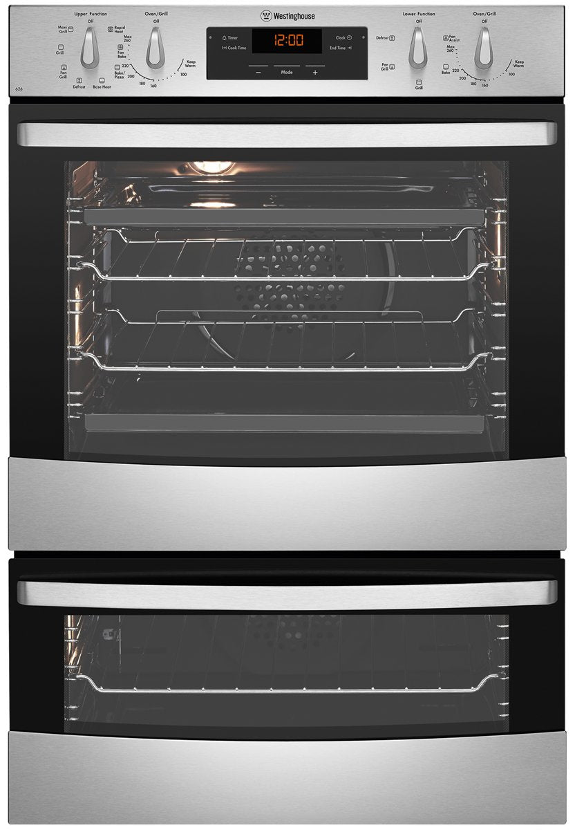Westinghouse WVE626S 60cm Electric Built-In Double Oven