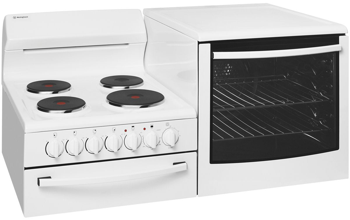 Westinghouse WDE135WA-R Electric Elevated Freestanding Cooker