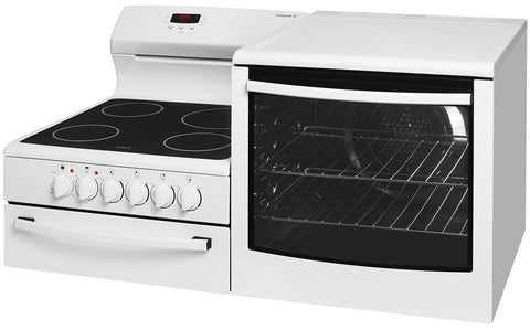 Westinghouse WDE147WA-R Elevated Electric Freestanding Cooker