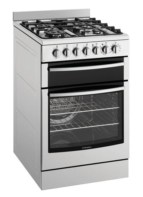 Westinghouse WFE517SA 54cm Electric Oven with Gas Hob - Bargain Home Appliances