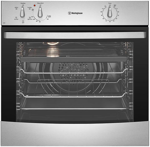Westinghouse WVE614SA 60Cm 4 Function S/Steel Electric Oven