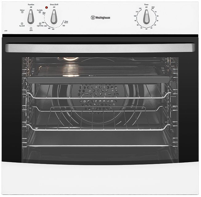 Westinghouse WVE614WA 60cm 4 Function White Oven