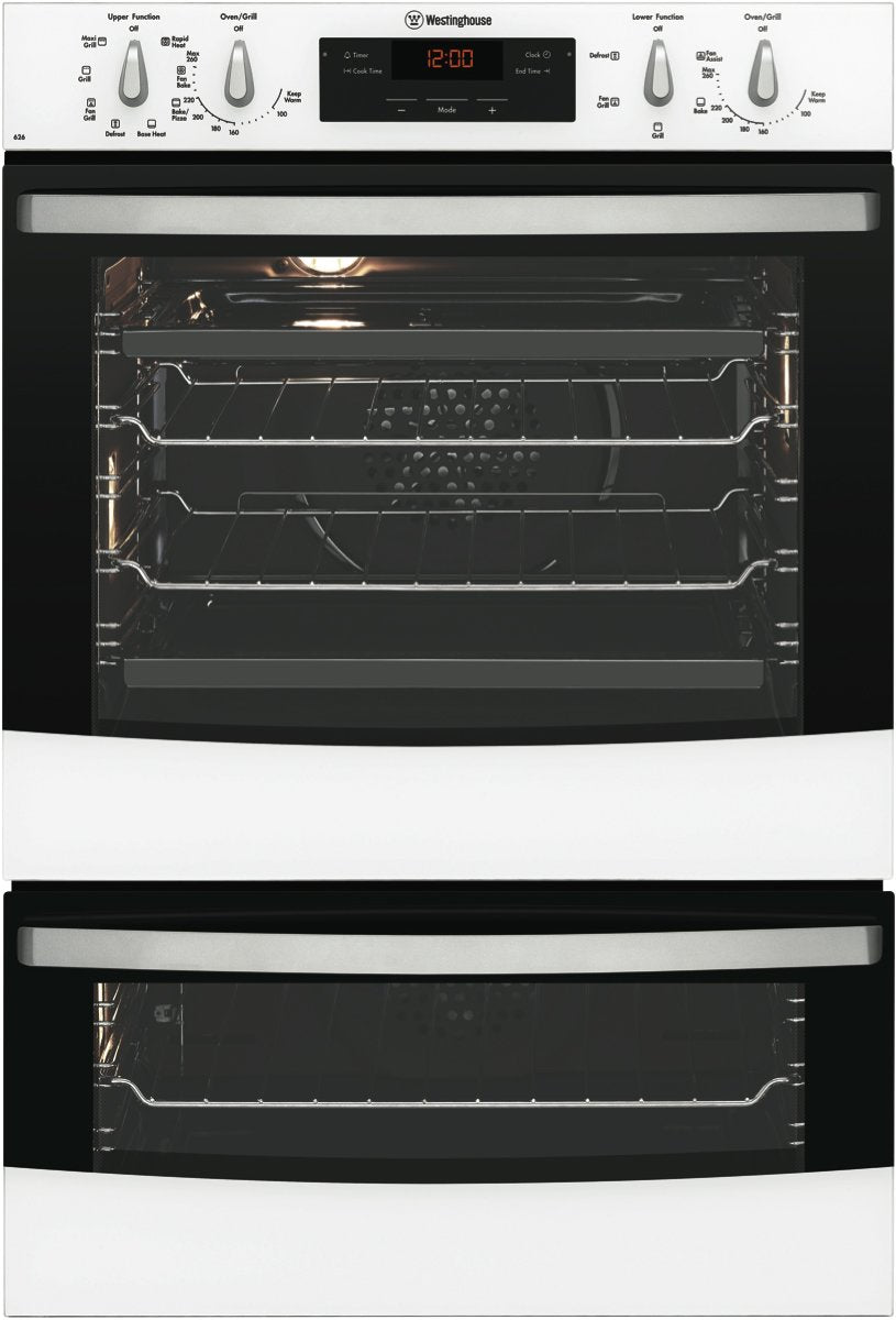Westinghouse WVE626W White Multifunction 60cm Duo Oven