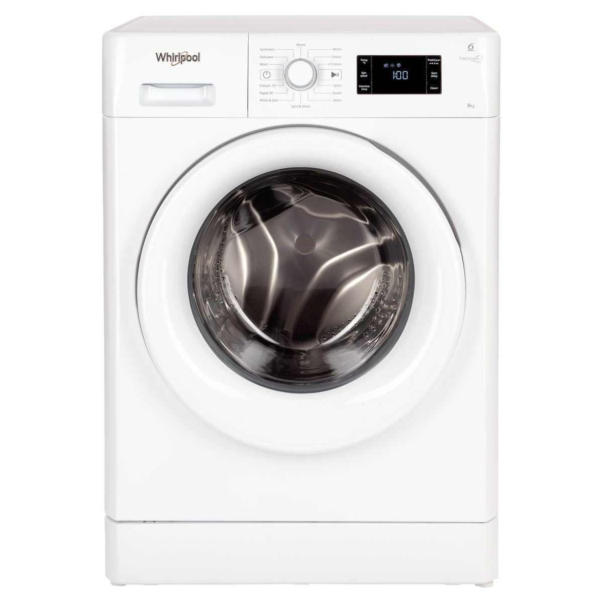 Whirlpool FDLR80210 8kg Front Load Washing Machine
