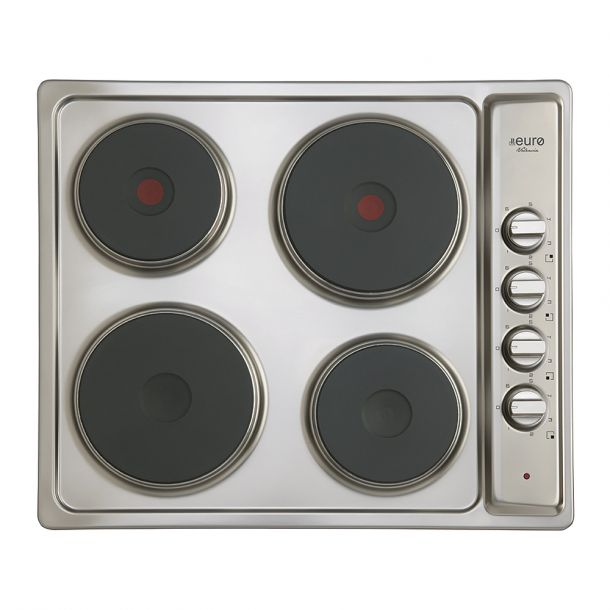Euro ECT600ESS 60cm Electric Cooktop