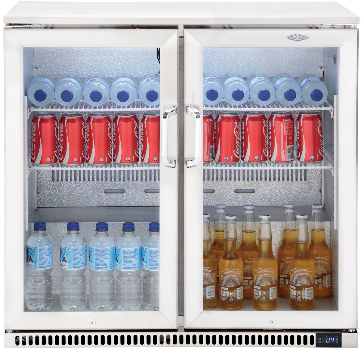 Beef Eater BS28200 190L Double Door Outdoor Display Fridge
