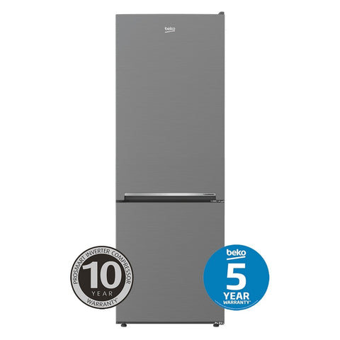 Beko BBM335PX 335L Platinum Bottom Mount Fridge