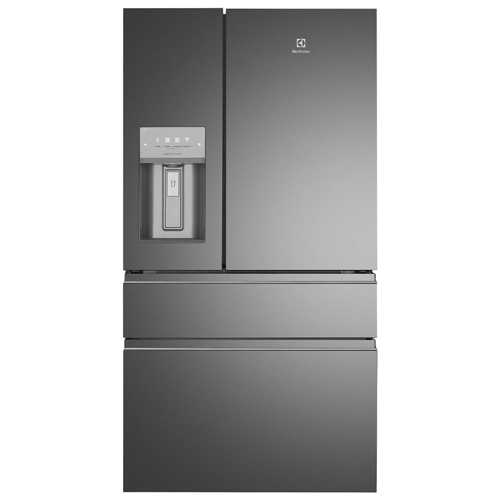 Electrolux EHE6899BA 681L Dark Stainless Steel French Door Fridge