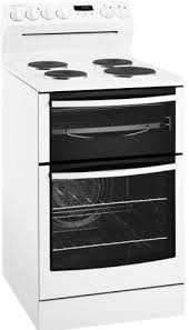 Westinghouse WLE537WA 54cm Electric oven with solid hob