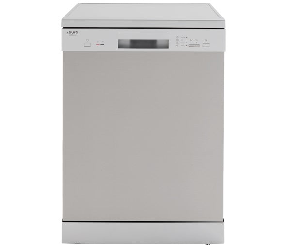 Euro EDV604SS 60cm Freestanding S/Steel Dishwasher - Bargain Home Appliances