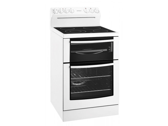 Westinghouse WLE645WA 60cm White Electric Freestanding Cooker