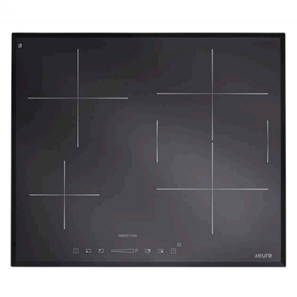 Euro ESINF600B 60cm Induction Cooktop - Bargain Home Appliances