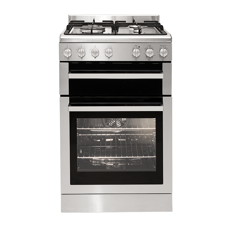 Euromaid Fsg54S Freestanding S/Steel Gas Oven & Gas Cooktop
