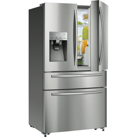 Hisense HR6FDFF701SW 701L Stainless Steel French Door Fridge