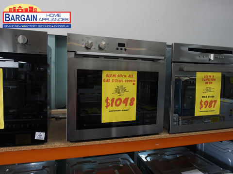 Glem Gmf61Mvi Built In Fan Assisted Gas Oven