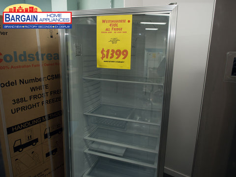 Westinghouse WRM4300WB Custom Made Commercial All Glass Door Fridge