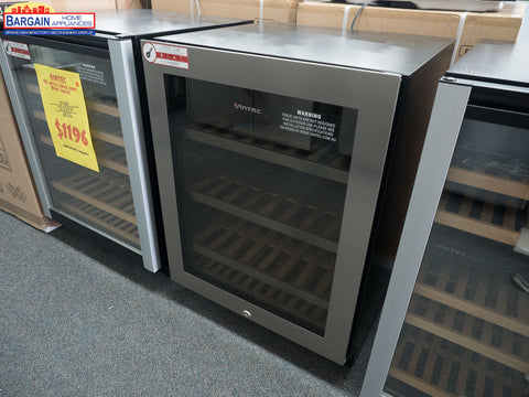 Vintec V40SG2ES3 40 Bottle Two Zone Wine Fridge