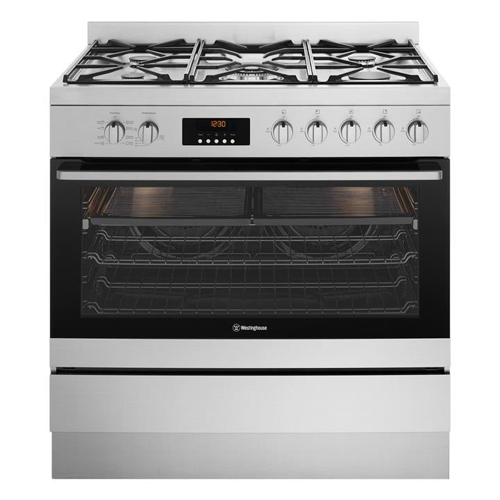 Westinghouse WFE914SC 90cm Dual Fuel Freestanding Oven