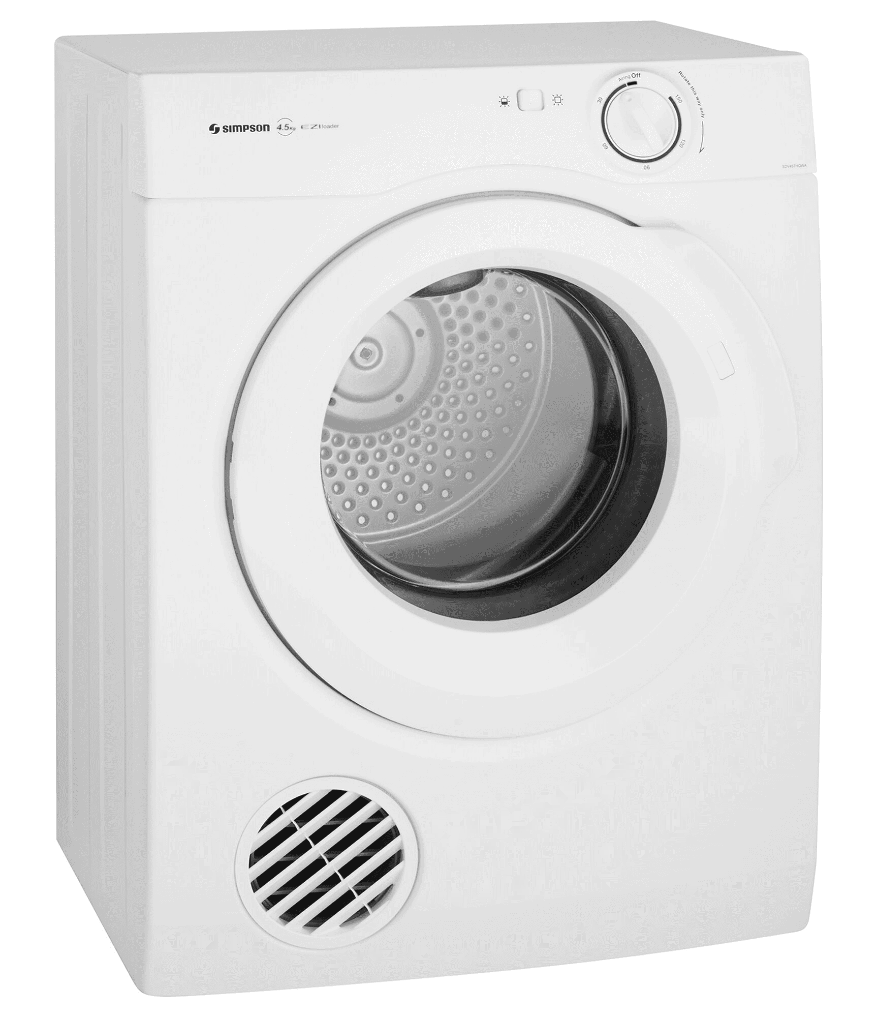Simpson SDV457HQWA 4.5kg Vented Dryer