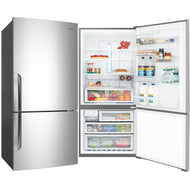 Westinghouse WBE5300SA-R 528L Stainless Steel Bottom Mount Fridge - Bargain Home Appliances