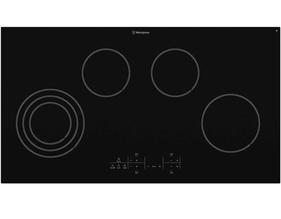 Westinghouse WHC944BA 90cm Electric Ceramic Cooktop - Bargain Home Appliances