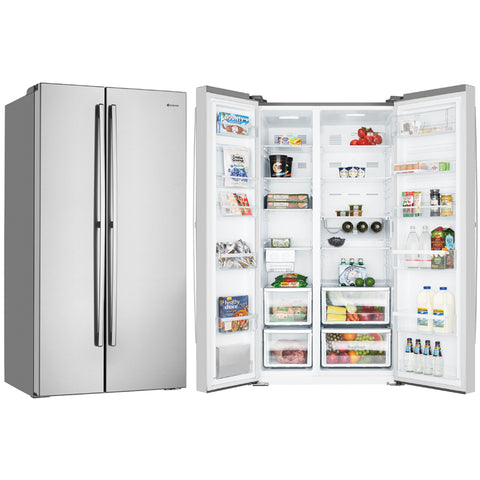 Westinghouse WSE6200SA 620L Side By Side Stainless Steel Fridge