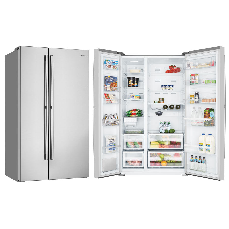 Westinghouse WSE6900SA 690L Side By Side Stainless Steel Fridge