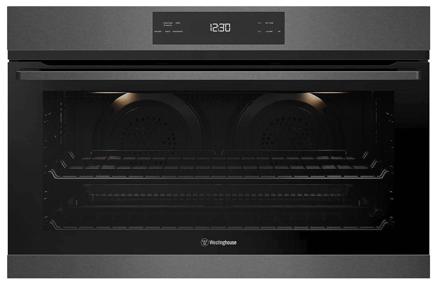 Westinghouse WVE915DSCA 90cm Multifunction Oven, dark stainless steel