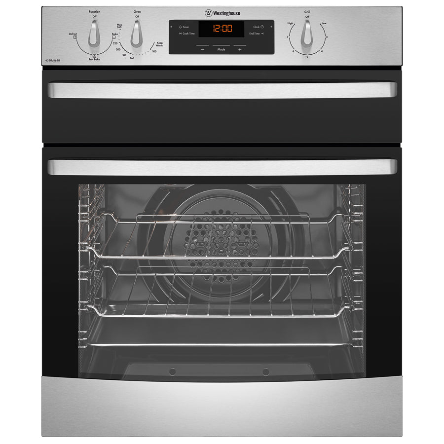 Westinghouse WVG655SNG 60CM Natural Gas Wall Oven