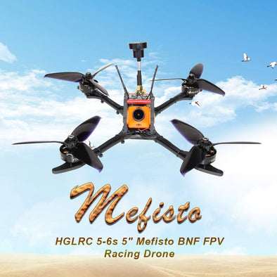 HGLRC Mefisto 226 Drone-Slim Arm Frame Max to Support 6S | HGLRC Company