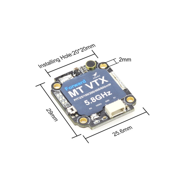 HGLRC Forward MT VTX mini 600mW 20*20 For FPV Racing Drone